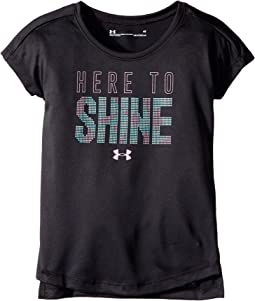 Under Armour Kids - Here To Shine Short Sleeve (Toddler)