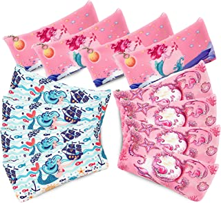Mermaid Party Favors 12 Piece Set Girls Birthday Supplies Cute Pencil Pen Case Under The Sea Decoration Cosmetic Makeup Loot Bag School Travel Pouch