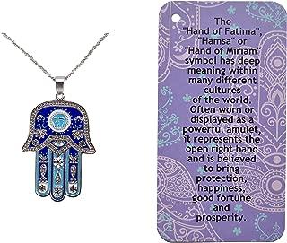 Best hamsa symbol necklace Reviews