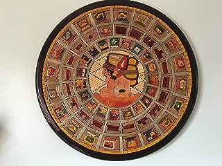 Mayan Calendar 2012 End of the World Wooden Art Wall Decor Larg