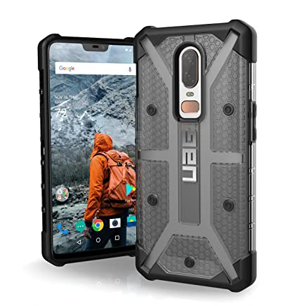 Urban Armor Gear UAG Plasma Feather Light Rugged Military Drop Tested Case Cover for OnePlus 6