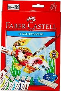 Faber-Castell PL121004N 12-Pieces Watercolour