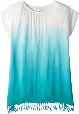 San Diego Hat Company Kids Tunic Dip-Dye with Fringe (Little Kids/Big Kids)