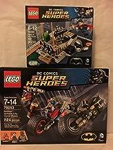LEGO Super Heroes Batman: Gotham City Cycle Chase & LEGO Super Heroes Clash of the Heroes