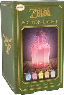 Paladone Legend of Zelda Potion Bedside Light, Multi