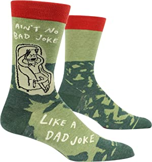 Ain't No Bad Joke Like a Dad Joke Humorous Men's Crew Socks