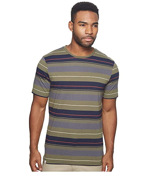 CAPTAIN FIN Wagoneer Short Sleeve Knit, Olive