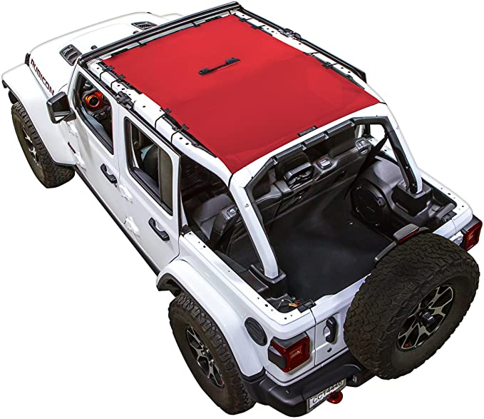 Fits Jeep Wrangler JK White Tops Sun Shade   Made in USA J0043716