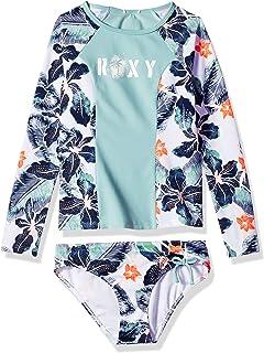 e5567f65f13e6 FREE Shipping on eligible orders. Roxy Big Girls  Long Sleeve Fashion  Rashguard Set