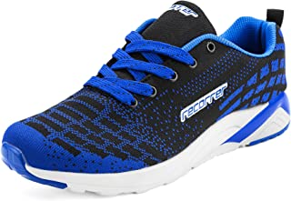 recorrer Zoom-Knit Men's Lace-up Blue Casual Sports Running Shoes