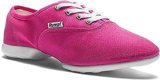 Rumpf 1572 Sparrow con pulsante Dance Sneaker Danza Sport Fitness Salsa Jazzdance Zumba Hip Lindy Hop Gym Training Hallen Aerobic scarpe colore nero
