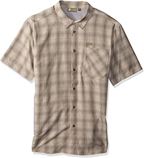 Solstice Apparel Men's Short Sleeve Plaid Shirt