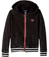 True Religion Kids - Moto Zip-Up Hoodie (Big Kids)