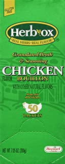 Hormel Herb Ox Chicken Bouillon 50 Packets