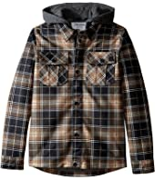 Volcom Kids - Pagoda Flannel Jacket (Big Kids)