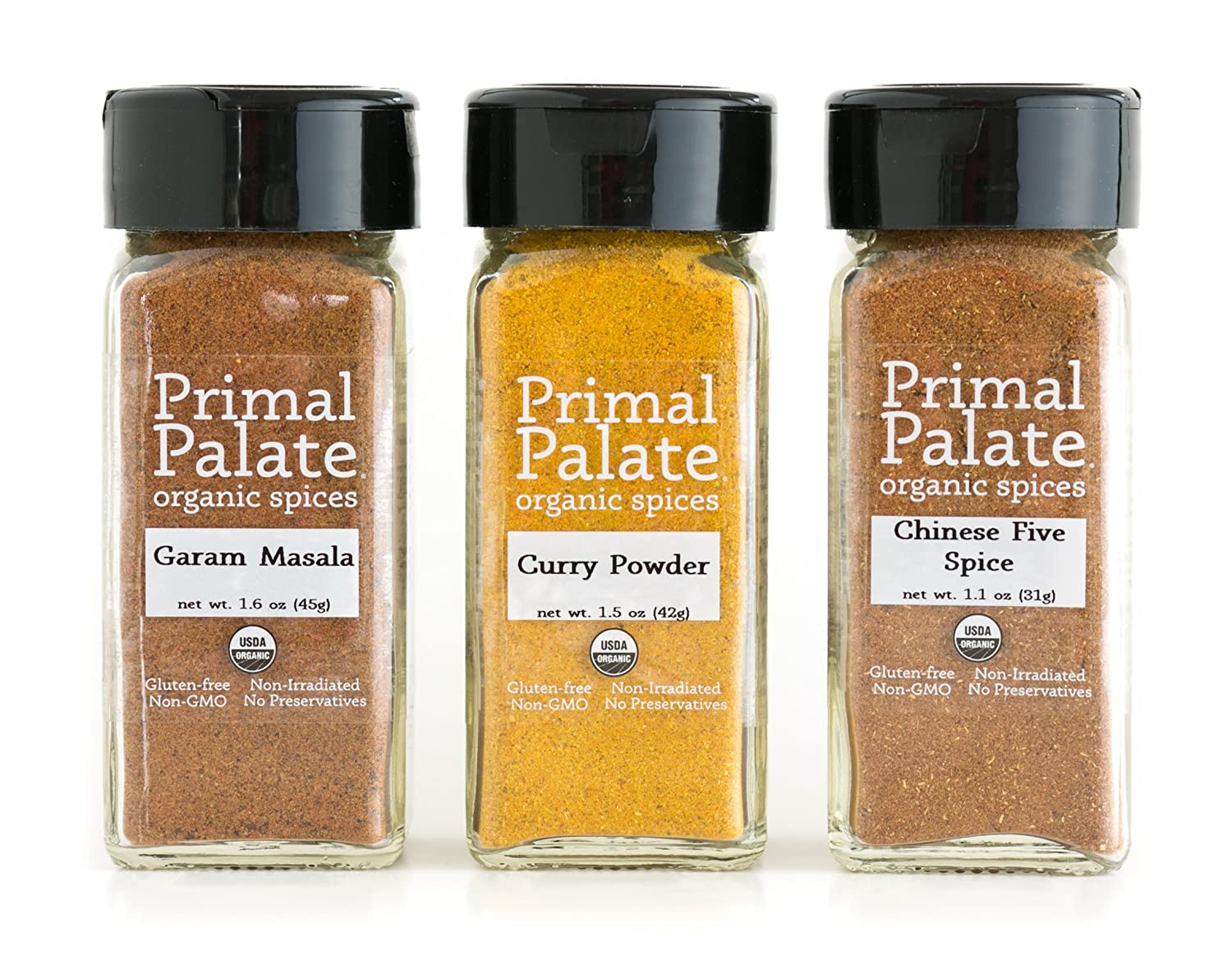 Primal Palate Organic Spices Los Angeles Mall - Taste 3-Bottle of Gift Colorado Springs Mall Asia Pack
