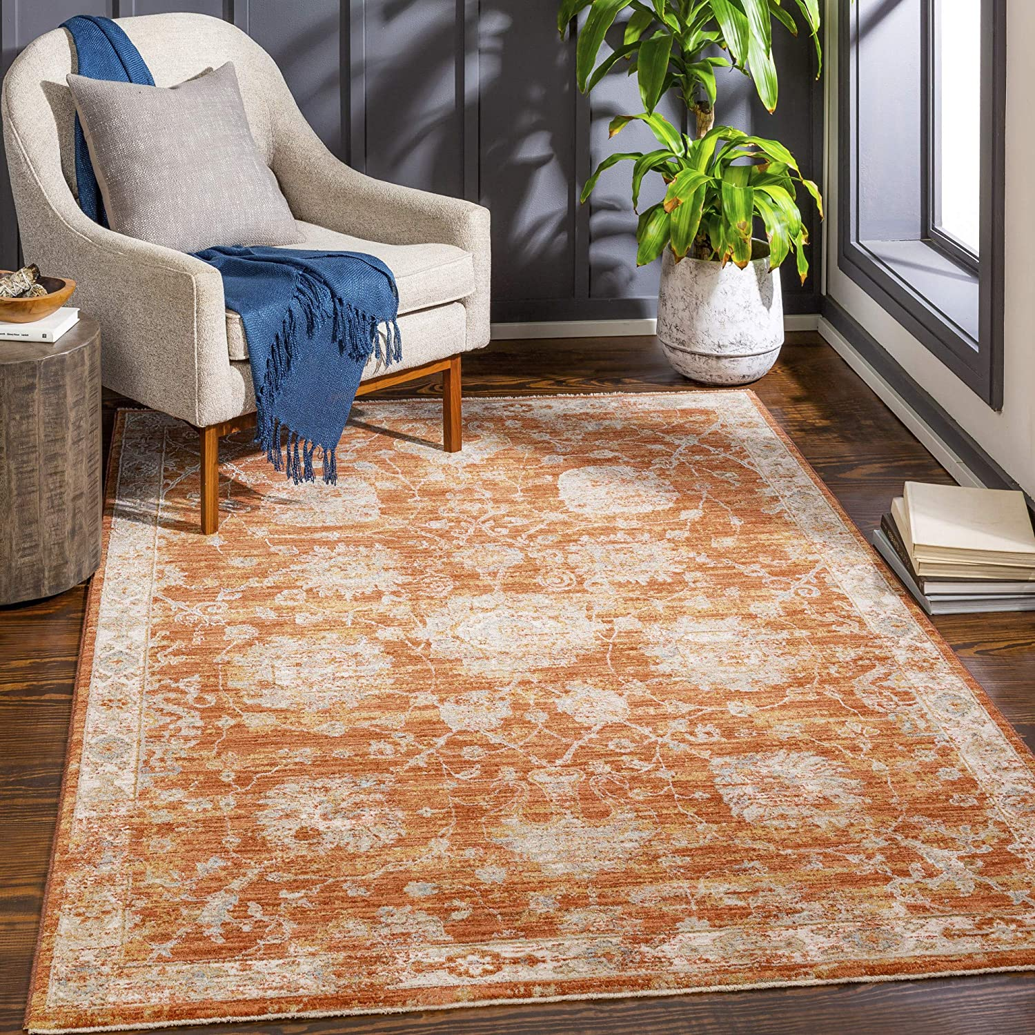 Artistic Weavers Year-end gift Gautier Traditional Oriental Rug Area 7'10