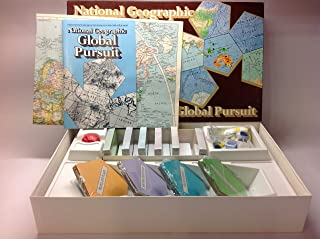 National Geographic Global Pursuit Family Game