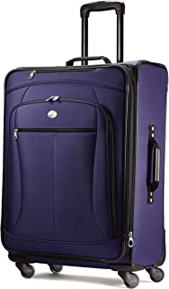 """American Tourister Luggage Pop Extra 25"""" Spinner Suitcase (25"""", Navy)"""