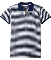Toobydoo - Stripe Polo (Infant/Toddler/Little Kids/Big Kids)