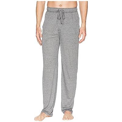 Jockey 50 Rayon/50 Poly Knit Sleep Pants (Caviar/Grey) Men