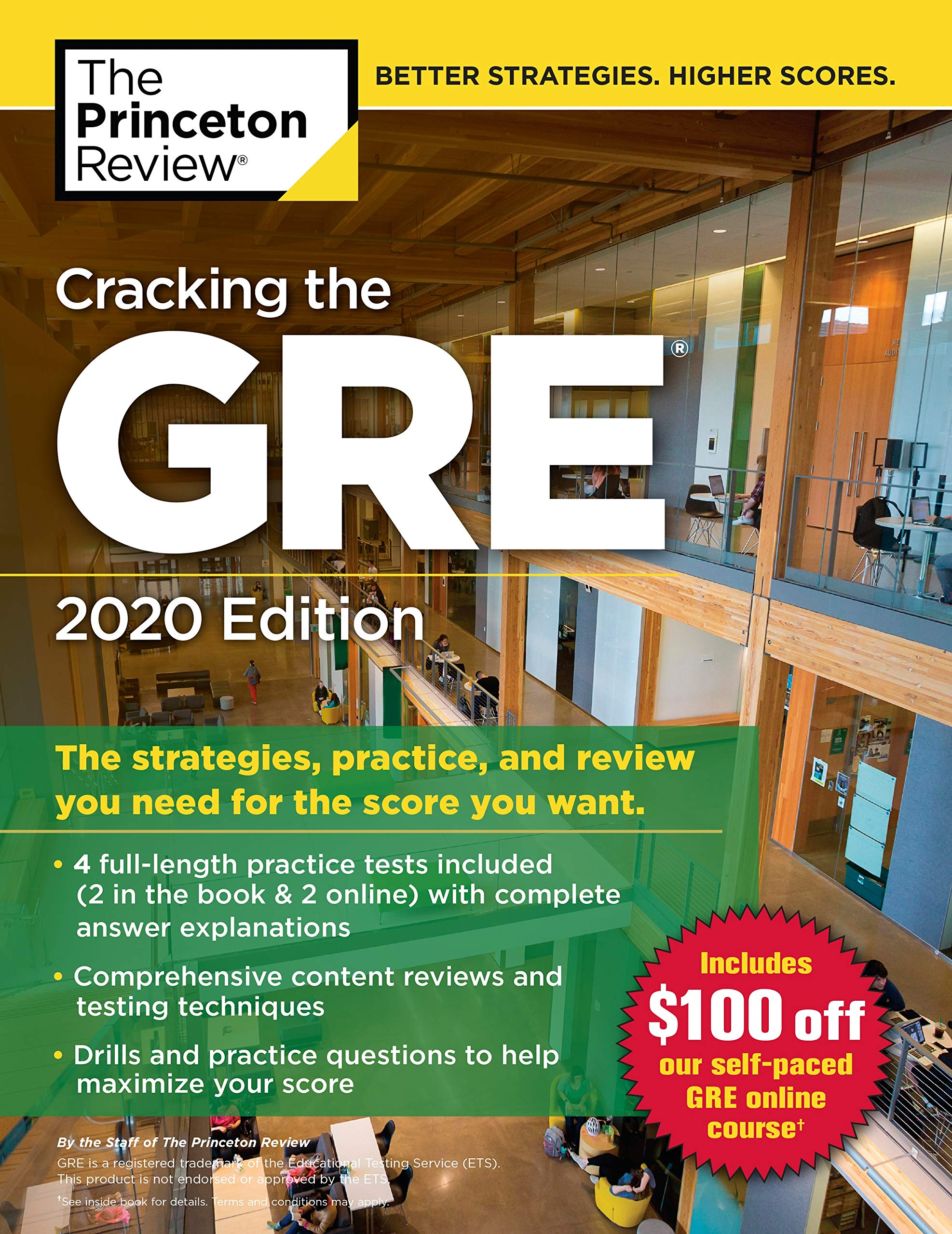 Image OfCracking The GRE With 4 Practice Tests, 2020 Edition: The Strategies, Practice, And Review You Need For The Score You Want...