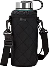 MIRA Water Bottle Carrier for Wide Mouth Insulated Bottles | Fits, Hydro Flask, Camelbak,..