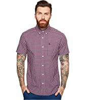 Original Penguin - Short Sleeve Gingham w/ Stretch
