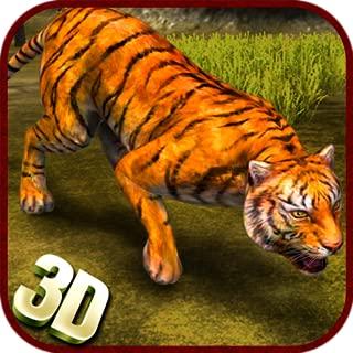 Jungle Adventure Wild Tiger Simulator 3D Game: Hero Hunter hard Time Survivor Cheetah Warrior Action Adventure Mission Games Free For Kids