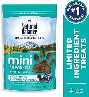 Natural Balance Mini Rewards Dog Treats, 4 Ounce