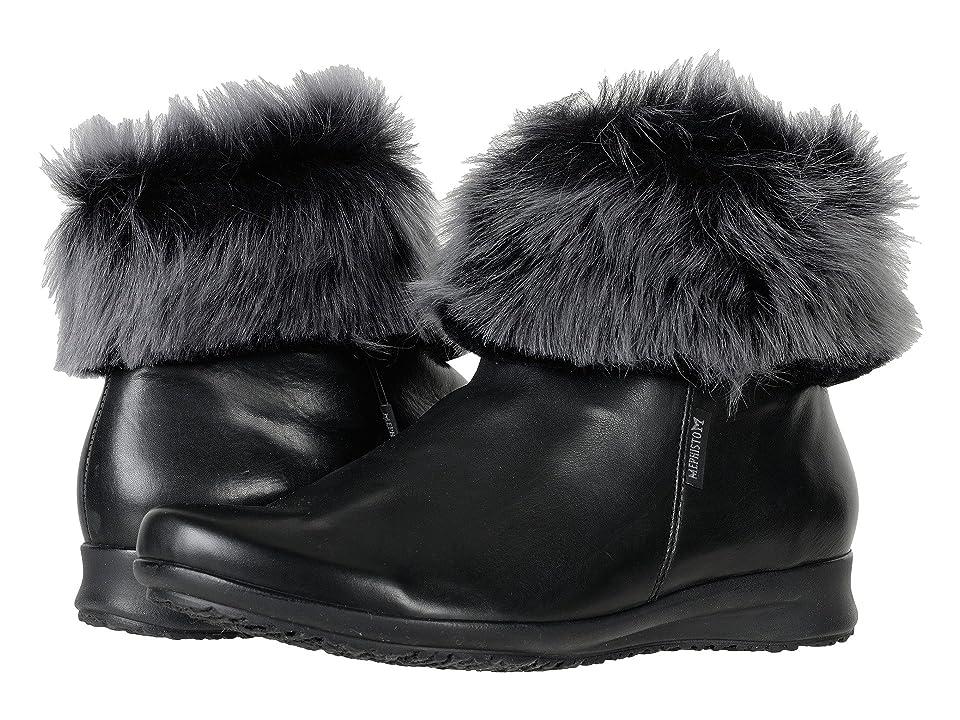 Mephisto Fiducia Winter (Black Silk/Wolf) Women
