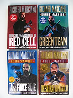 Rogue Warrior Series (Set of 4 Books) Red Cell; Green Team; Task Force Blue; Designation Gold