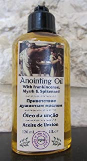 Anointing Oil with Frankincense, Myrrh and Spikenard 120ml by Jerusalem Anointing Oil