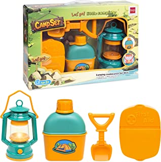 Best Choice Products Kids Outdoor Adventure Kit w/ Light, Shovel, Water Bottle and First Aid Kit