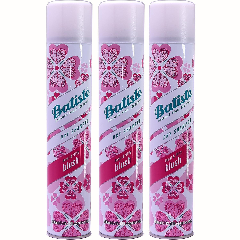 Batiste Instant Hair Refresh Dry Shampoo Floral Flirty Blush 13 46 Ounce Pack Of 3 Beauty Amazon Com