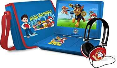 paw patrol dvd player set