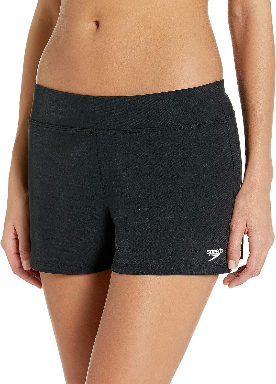 Speedo Women's Swimsuit Bottom Shorts Solid Endurance Max 40% High material OFF Bio