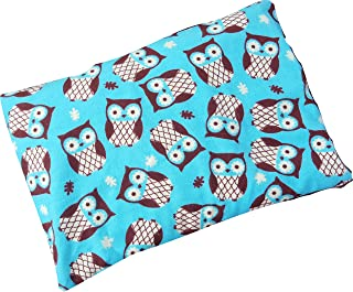 Microwavable Corn Filled Heating Pad and Cold Pack/Washable 100% Cotton Cover (7.5