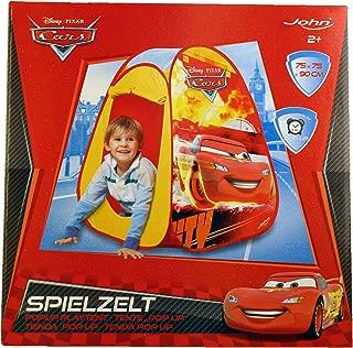 Disney John GmbH Cars Pop-Up Play Tent (Red)
