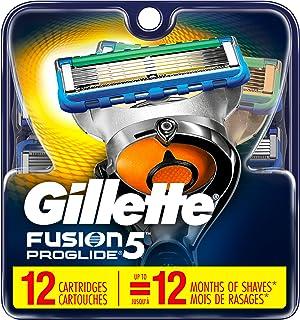 Gillette Fusion5 ProGlide Men's Razor Blades Refills, 12 Count, Mens Fusion Razors / Blades