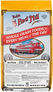 Bob's Red Mill Steel Cut Oats, 25 Pounds