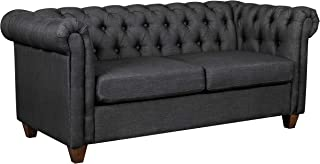 Ravenna Home Classic Chesterfield Tufted Couch Sofa, 70.87