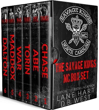 Savage Kings MC Box Set: Books 1-6 (English Edition)