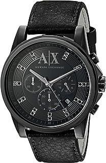 Armani Exchange Men's AX2507 Black  Leather Watch