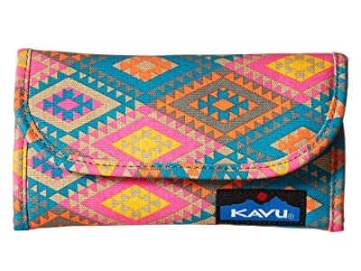 KAVU Big Spender (Rhombus Rug) Wallet Handbags