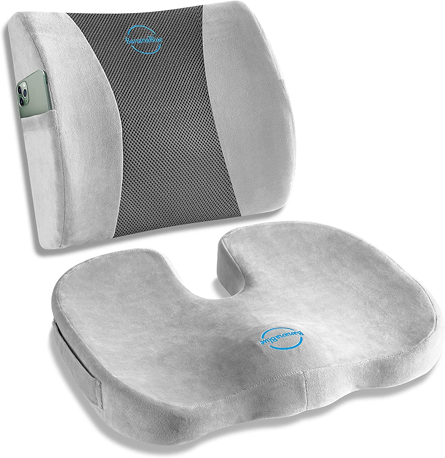 Ultimate Set: Ergonomic Lumbar Support Courier shipping free and Pillow Seat U-Shaped Max 52% OFF