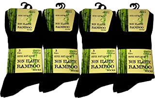 Mens Anti-Bacterial Bamboo Super Soft Work/Casual Non Elasti