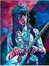 Trademark Fine Art Keith Richards A Rolling Stone by David Lloyd Glover, 24x32