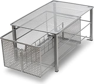 wire mesh closet drawers