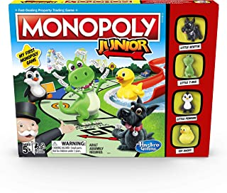 Hasbro Monopoly Junior Game,A69843480
